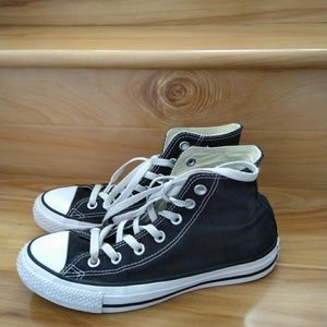Converse hightop shoes size 7.5